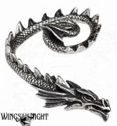 ALCHEMY GOTHIC Ostrogoth Dragon Ear Wrap Earring | Gothic Jewellery